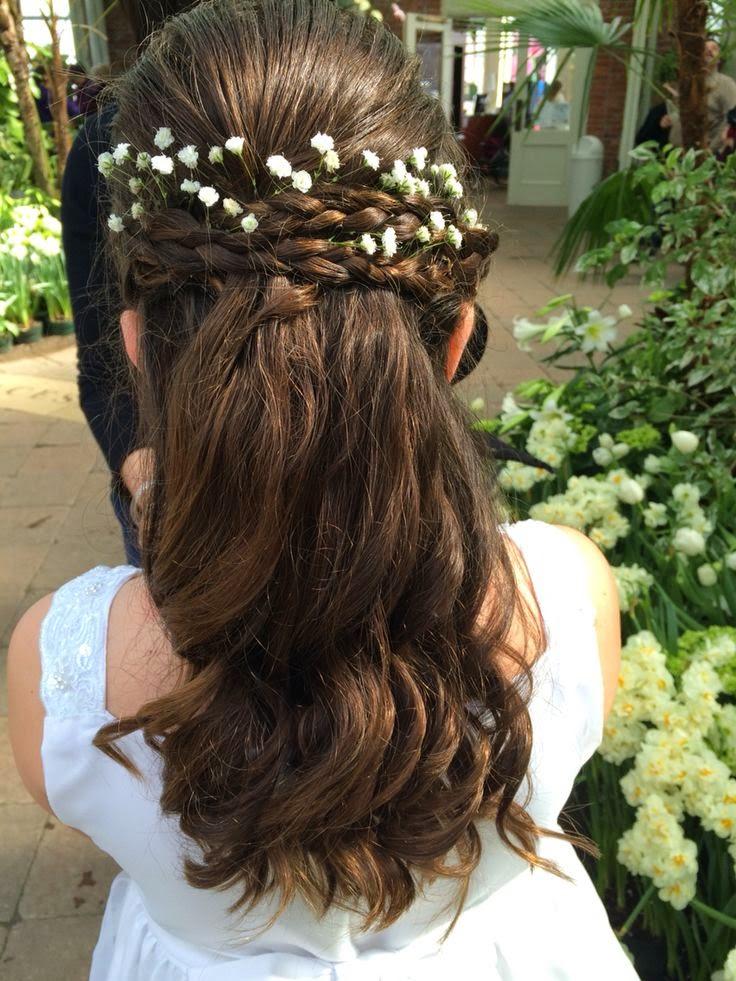 Acogedor peinados sencillos para comunion Galería de cortes de pelo estilo - Ideas peinados para Comuniones - Peluquería MDV